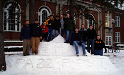 Jazz Fest Snow Monolith (2007)