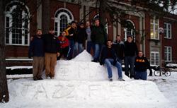 Jazz Fest Snow Monolith (2007)